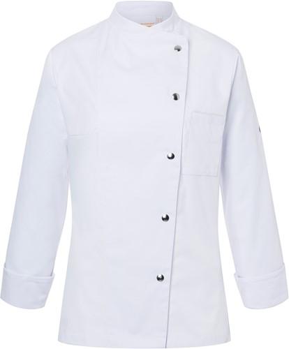 JF 3 Ladies' Chef Jacket Larissa - White - 46