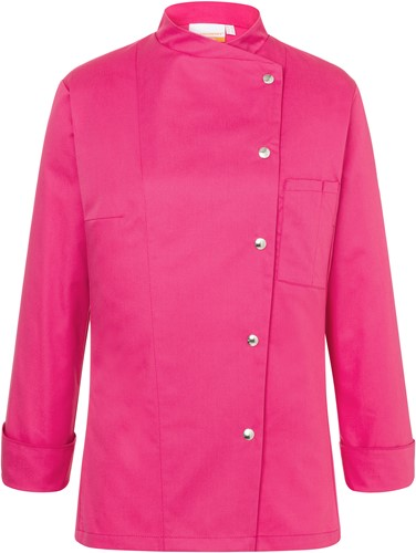 JF 3 Ladies' Chef Jacket Larissa - Pink - 44