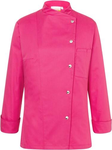 JF 3 Ladies' Chef Jacket Larissa - Pink - 46