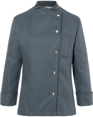 JF 3 Ladies' Chef Jacket Larissa - Anthracite - 42
