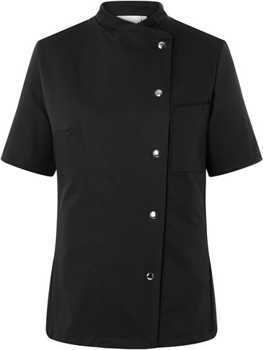 JF 4 Ladies' Chef Jacket Greta - Black - 46
