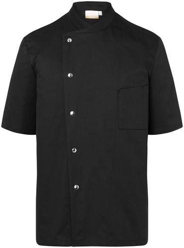 JM 15 Chef Jacket Gustav - Black - 44