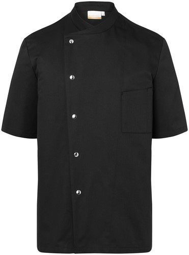 JM 15 Chef Jacket Gustav - Black - 64