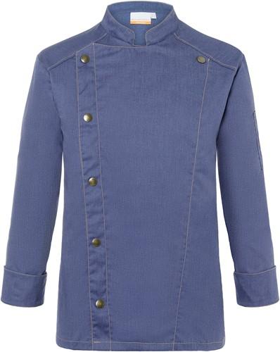 JM 24 Chef Jacket Jeans-Style - Vintage blue - 56