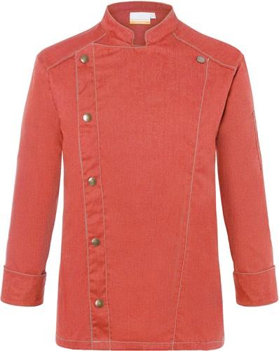 JM 24 Chef Jacket Jeans-Style - Vintage red - 54