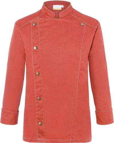 JM 24 Chef Jacket Jeans-Style - Vintage red - 62