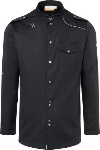JM 26 Chef Shirt New-Identity - Black - 58