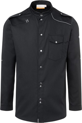 JM 26 Chef Shirt New-Identity - Black - 62