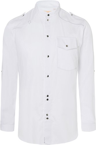 JM 26 Chef Shirt New-Identity - White - 64