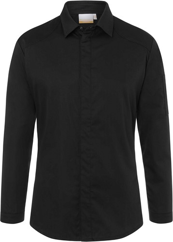 JM 27 Chef Shirt Modern-Edge - Black - 58