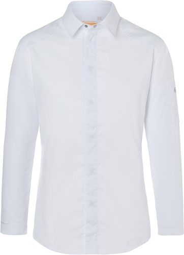 JM 27 Chef Shirt Modern-Edge - White - 58