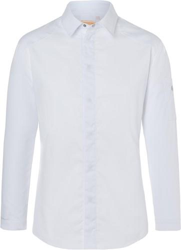 JM 27 Chef Shirt Modern-Edge - White - 62