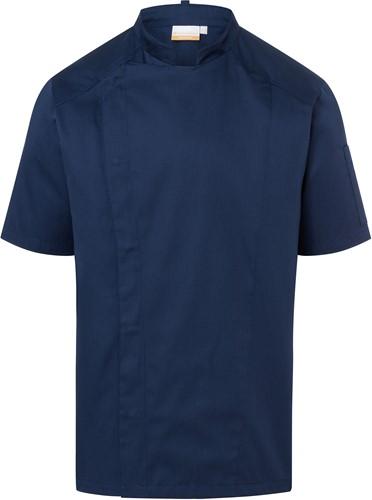 JM 29 Short-Sleeve Chef Jacket Modern-Look - Navy - 48