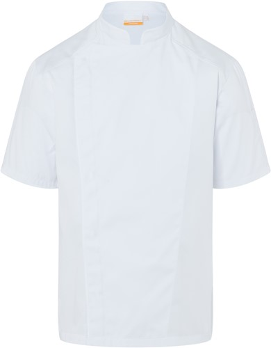 JM 29 Short-Sleeve Chef Jacket Modern-Look - White - 46