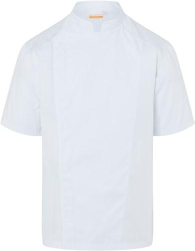 JM 29 Short-Sleeve Chef Jacket Modern-Look - White - 48