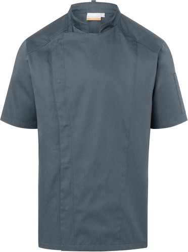 JM 29 Short-Sleeve Chef Jacket Modern-Look - Anthracite - 50