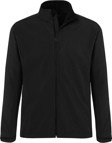 JM 34 Men's Softshell Jacket Classic - Black - 2xl
