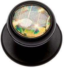 KK 100 Buttons Black, Gold