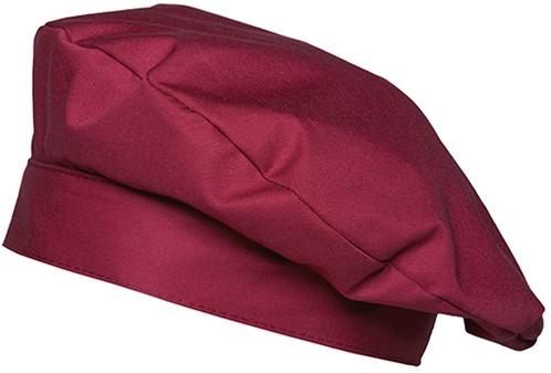 KM 14 Beret Hat Luka One Size - Bordeaux - Stck
