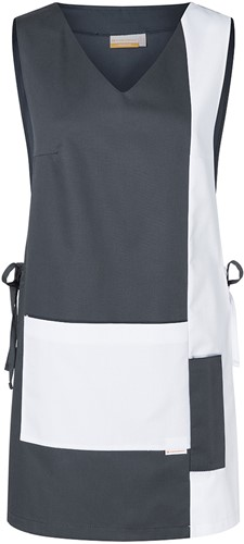 KS 38 Work Smock Marilies Anthracite - White - Iii