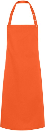 LS 14 Bib Apron Santorini 75 x 95 cm - Orange - Stck