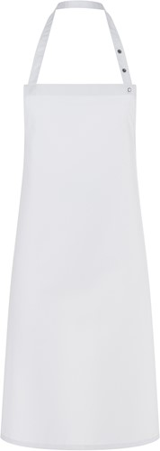 LS 14 Bib Apron Santorini 75 x 95 cm - White - Stck