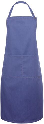 LS 22 Bib Apron Jeans-Style 71 x 95 cm - Vintage blue - Stck