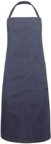 LS 22 Bib Apron Jeans-Style 71 x 95 cm - Vintage black - Stck