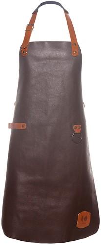 LS 23 Leather Bib Apron 60 x 82 cm - Mocha - Stck