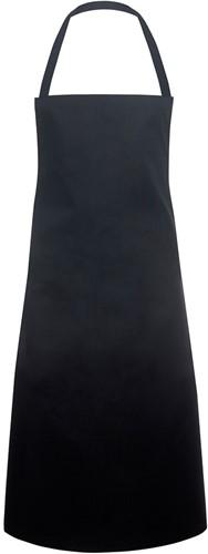 LS 3 Bib Apron Great Britain 75 x 95 cm - Black - Stck