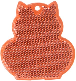 M117900 Reflector, cat - Red - one size