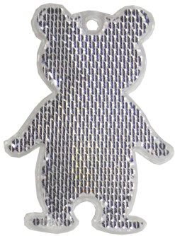 M117960 Reflector, bear - White - one size