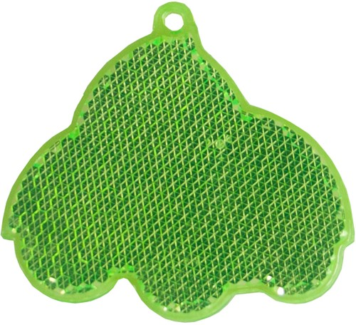 M118160 Reflector, car - Lime green - one size