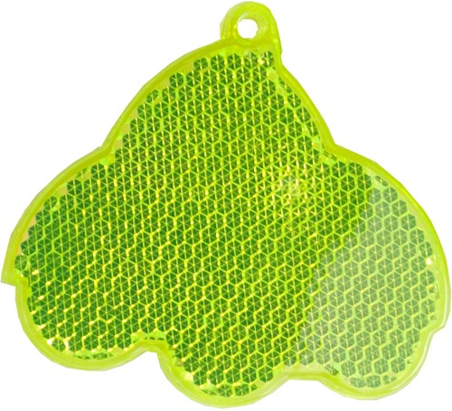 M118160 Reflector, car - Lime yellow - one size