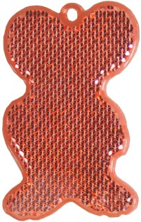 M118300 Reflector, mouse - Red - one size