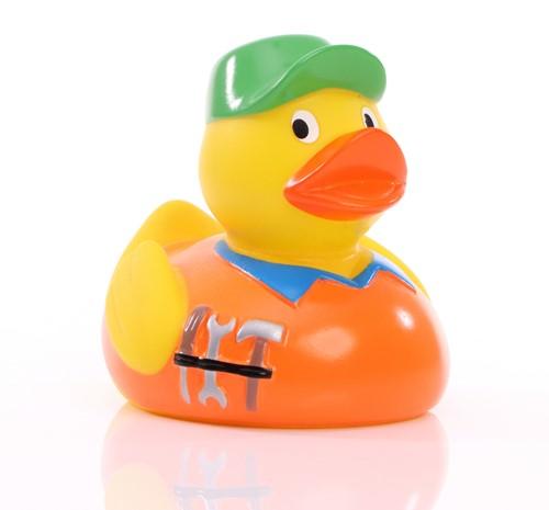 Squeaky duck handcrafter