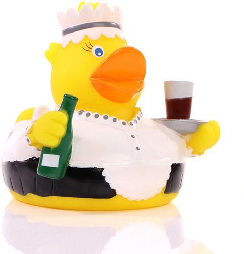 Squeaky duck waitress