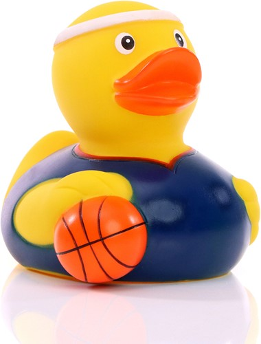 Squeaky duck basketball