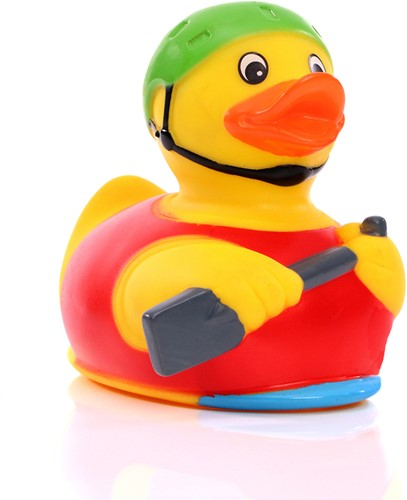 Squeaky duck rowboat