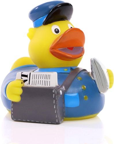 Squeaky duck newspaper
