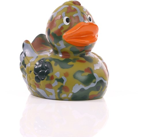 Squeaky duck camouflage