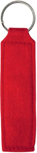 M144120 Polyester felt - Red - one size