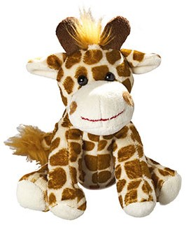 Zoo animal giraffe Gaby
