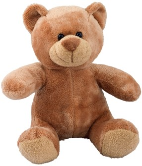 M160067 Plush bear Siggi - Brown - one size