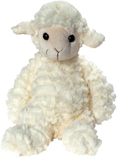 Plush sheep Annika
