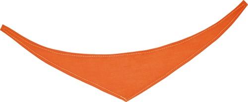 M160161 Bandana/ triangle scarf - Orange - XS
