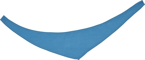M160161 Bandana/ triangle scarf - Turquoise - XS