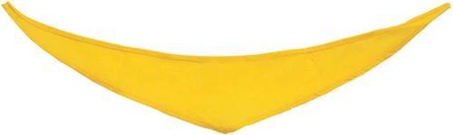 M160161 Bandana/ triangle scarf - Yellow - M