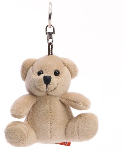 Softplush bear with keychain and mini t-shirt