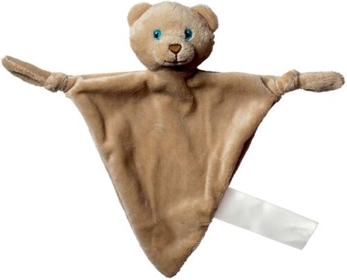 Cuddly blanket bear, triangular